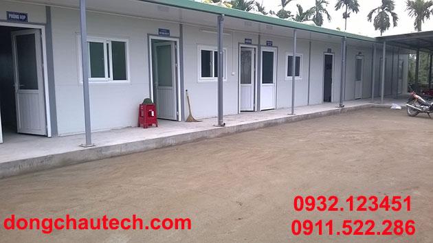 Nhà điều hành, văn phòng công trình/ dự án