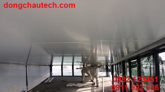 Trần cách nhiệt chống nóng phần ốp mái