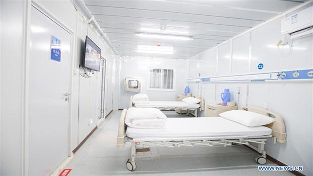 Bên trong bệnh viện dã chiến phòng chống dịch bệnh do virus Corona (Covid-19)